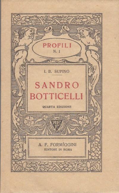 Sandro botticelli - Supino I.b.