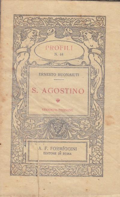 S. agostino - Buonaiuti Ernesto