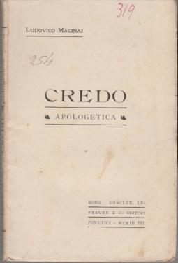 CREDO APOLOGETICA