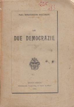 LE DUE DEMOCRAZIE