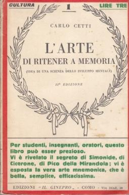 L'ARTE DI RITENER A MEMORIA
