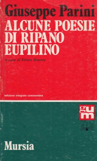 Alcune poesie di ripano eupilino - Giuseppe Parini
