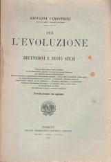 PER L'EVOLUZIONE RECENSIONI E NUOVI STUDI