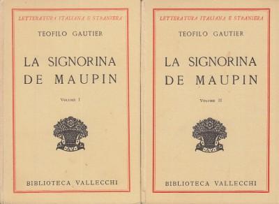 La signora de maupin - Gautier Teofilo