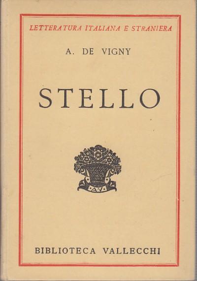 Stello - A. De Vigny