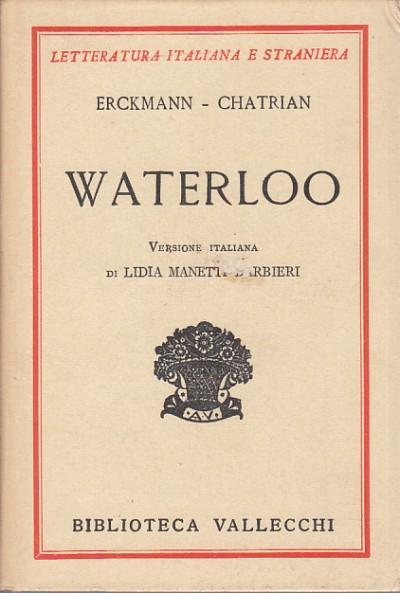 Waterloo - Erckmann - Chatrian