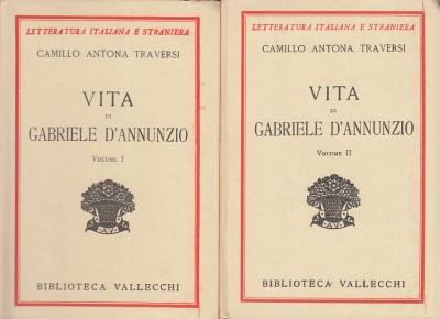 Vita di gabriele d'annunzio - Traversi Camillo Antona