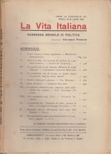 LA VITA ITALIANA RASSEGNA MENSILE DI POLITICA ANNO IX FASCISOLO CII ROMA 15 GIUGNO 1921