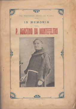 IN MEMORIA DI P. AGOSTINO DA MONTEFELTRO