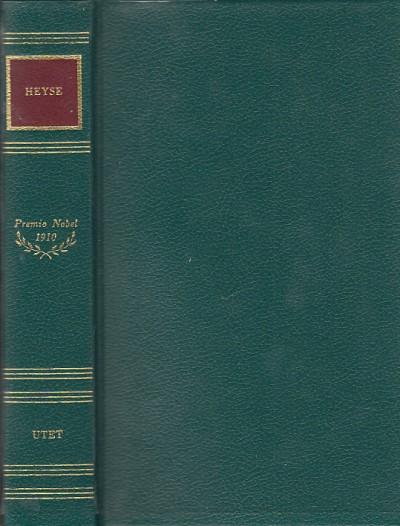Novelle - la fornarina - liriche - Heyse Paul