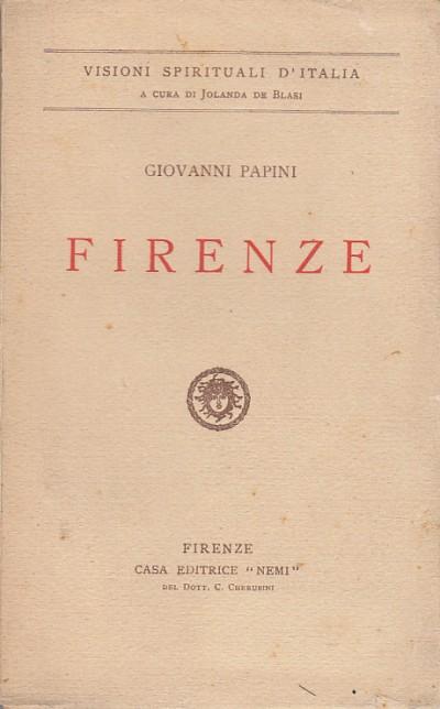 Firenze - Papini Giovanni