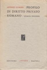 PROFILO DI DIRITTO PRIVATO ROMANO