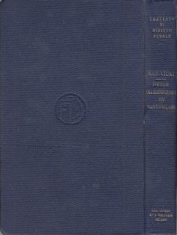 DELLE CONTRAVVENZIONI IN PARTICOLARE LIBRO III