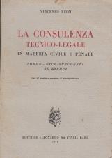 LA CONSULENZA TECNICO-LEGALE IN MATERIA CIVILE E PENALE NORME - GIURISPRUDENZA - ESEMPI