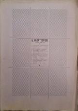 RIVISTA IL FRONTESPIZIO 1933 - XI ANNATA COMPLETA