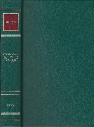 Poesia. prosa - Karlfeldt Erik Axel