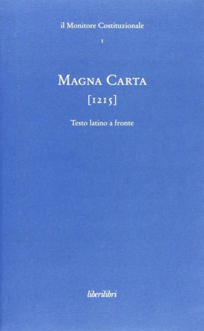Magna carta 1215