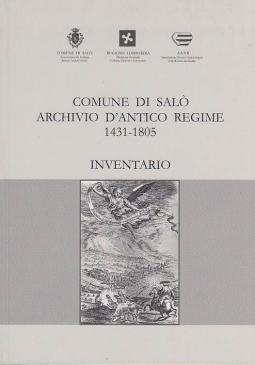 COMUNE DI SAL? ARCHIVIO D'ANTICO REGIME 1431-1805