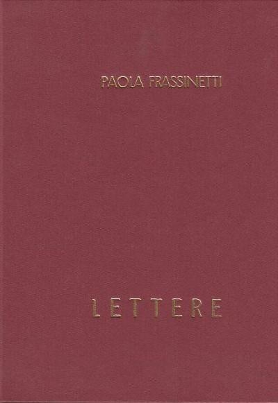 Lettere - Frassinetti Paola