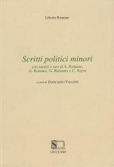 Scritti politici minori