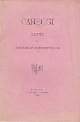 CAREGGI Canto di Teodolinda Franceschi Pignocchi