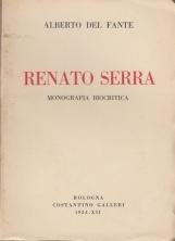 Renato Serra Monografia biocritica