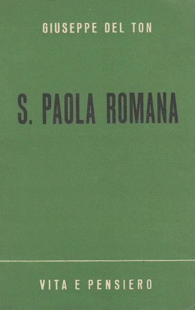 S. paola romana - Del Ton Giuseppe