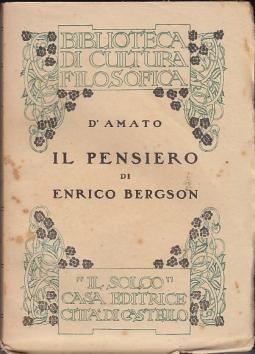 Il pensiero di Enrico Bergson