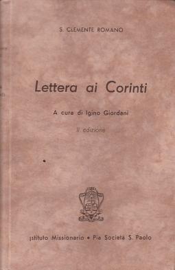 Lettera ai Corinti