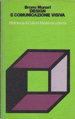Design e comunicazione visiva contributo a una metodologia didattica