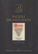 Pacioli 500 anni dopo. Atti del Convegno Sansepolcro, 22-23 maggio 2009