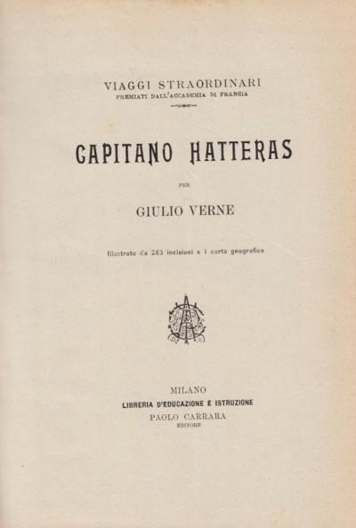 Capitano hatters - Giulio Verne