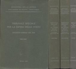 Tribunale speciale per la difesa dello Stato. Decisioni emesse nel 19298