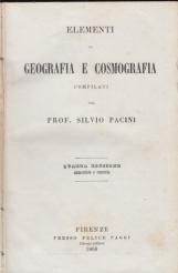 Elementi di Geografia e Cosmografia compilati dal Prof. Silvio Pacini