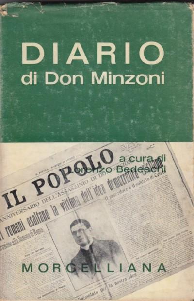 Diario di don minzoni - Bedeschi Lorenzo (a Cura Di)
