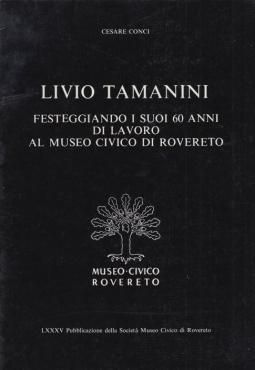 Livio Tamanini Festeggiando i suoi 60 anni di lavoro al museo civico di Rovereto