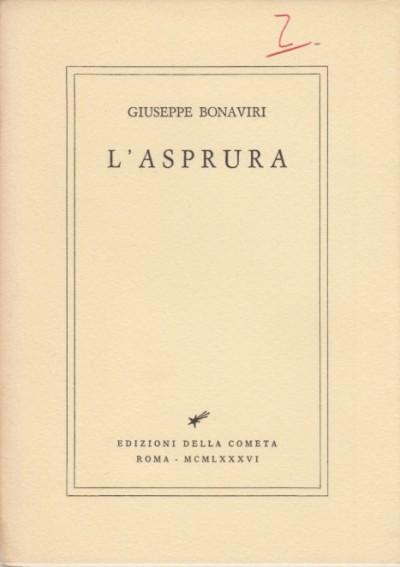 L'asprura - Bonaviri Giuseppe