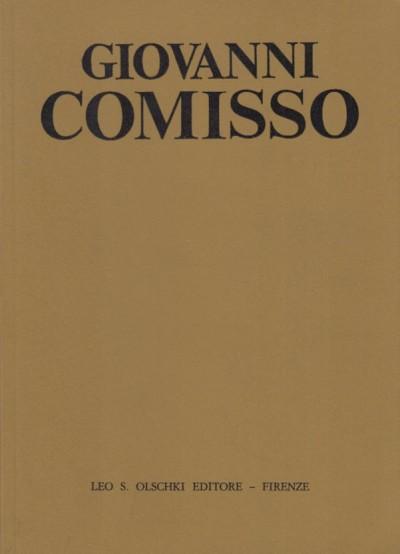 Giovanni comisso - Pullini Giorgio (a Cura Di)