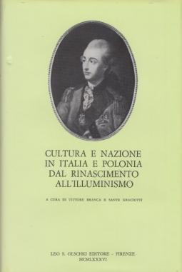 Cultura e nazione in Italia e Polonia dal Rinascimento all'Illuminismo