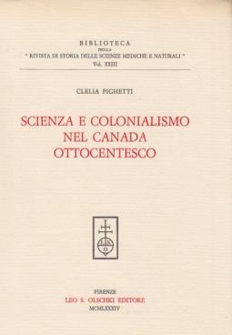 Scienza e colonialismo nel canada ottocentesco