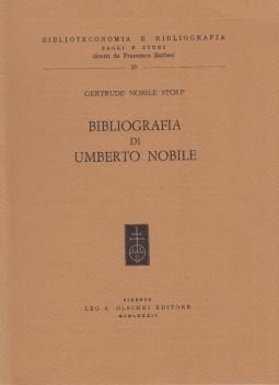 Bibliografia di Umberti Nobile