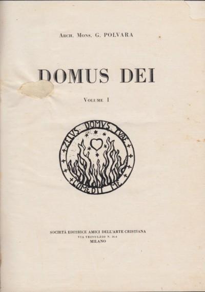 Domuse dei [manuale di arte cristiana] - Polvara G.