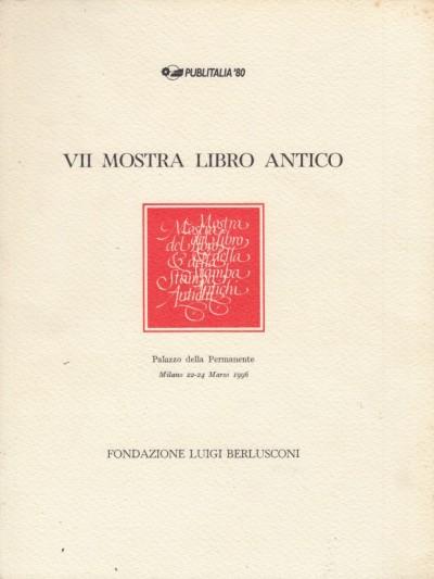 Vii mostra libro antico