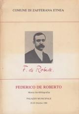 Federico de Roberto Mostra bio-bibliografica