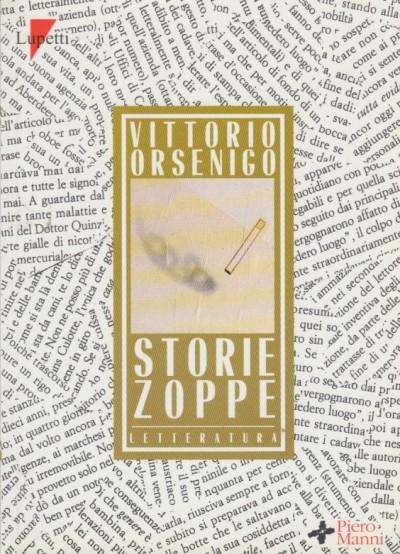 Storie zoppe - Orsenigo Vittorio