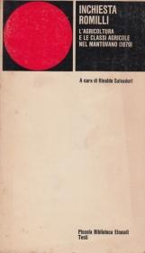 Inchiesta Romilli. L'agricoltura e le classi agricole nel mantovano (1879)