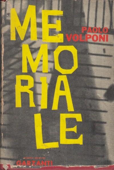 Memoriale - Volponi Paolo