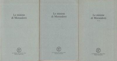 Minime, con una nota introduttiva di paolo volponi - italo zingarelli - Morandotti Alessandro