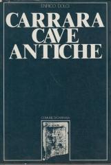 Carrara cave antiche materiali archeologici. Relazione delle campagne di rilevamento dei beni culturali del territorio promosse dal Comune di Carrara anni 1977 - 1978 - 1979