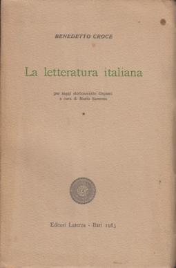 La letteratura italiana dal Duecento al cinquecento